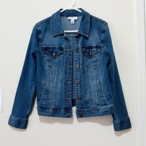 Style & Co denim jacket